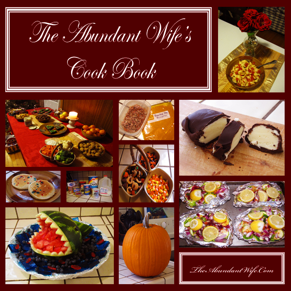 Abundant Wife's Cook Book - Simple Yummy Recipes for Frugal Families!  I can't wait to try some of these!