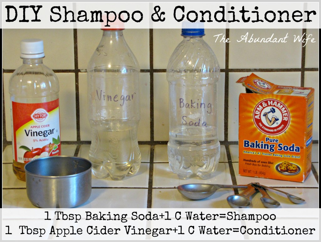 How to Make DIY Shampoo & Conditioner