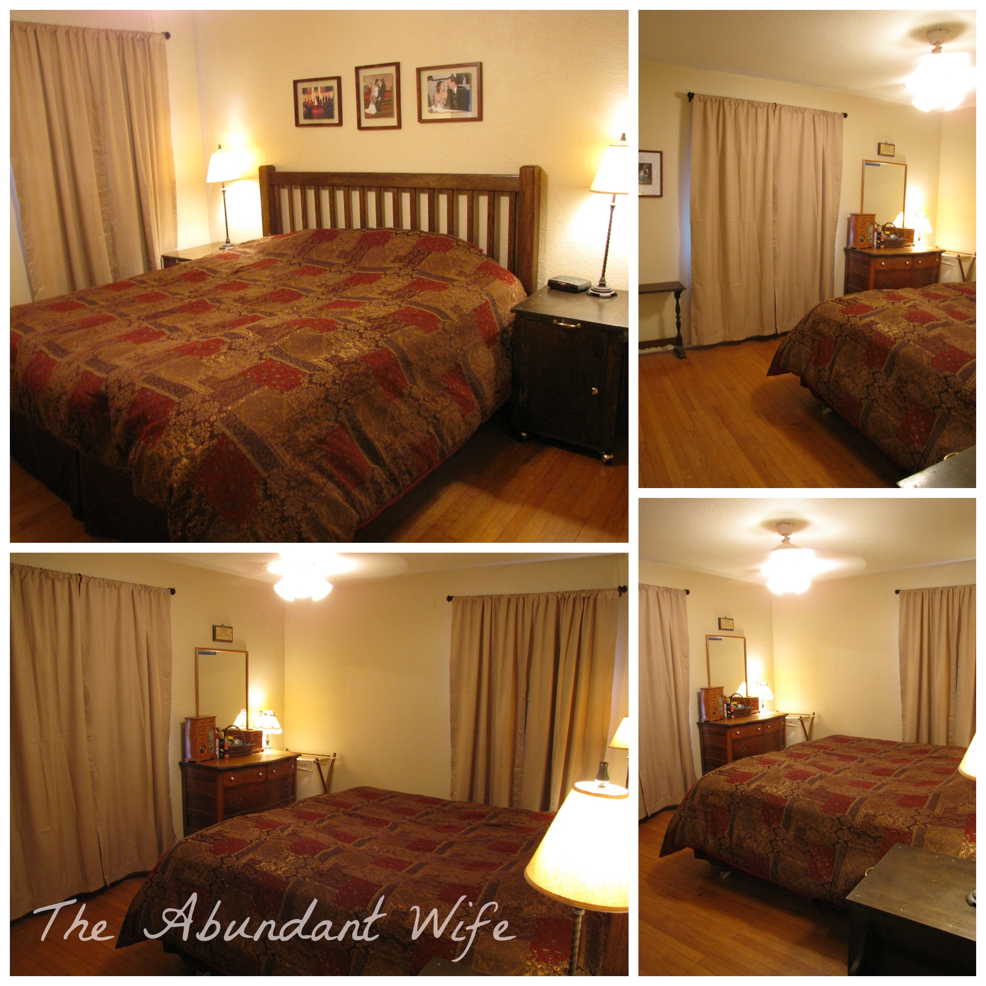 The Gift Of Curtains Our Master Bedroom Dining Room The Abundant Wife