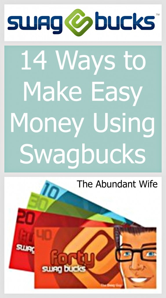 14 Ways to Make Easy Money Using Swagbucks