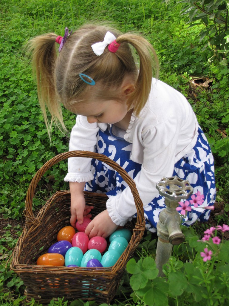 Backyard Easter Egg Hunt