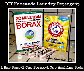 DIY Homemade Laundry Detergent {The Abundant Wife}