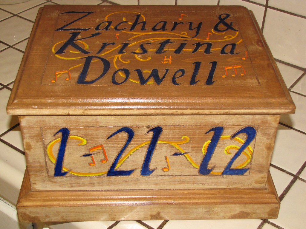 A Painted Box for Kristy 5