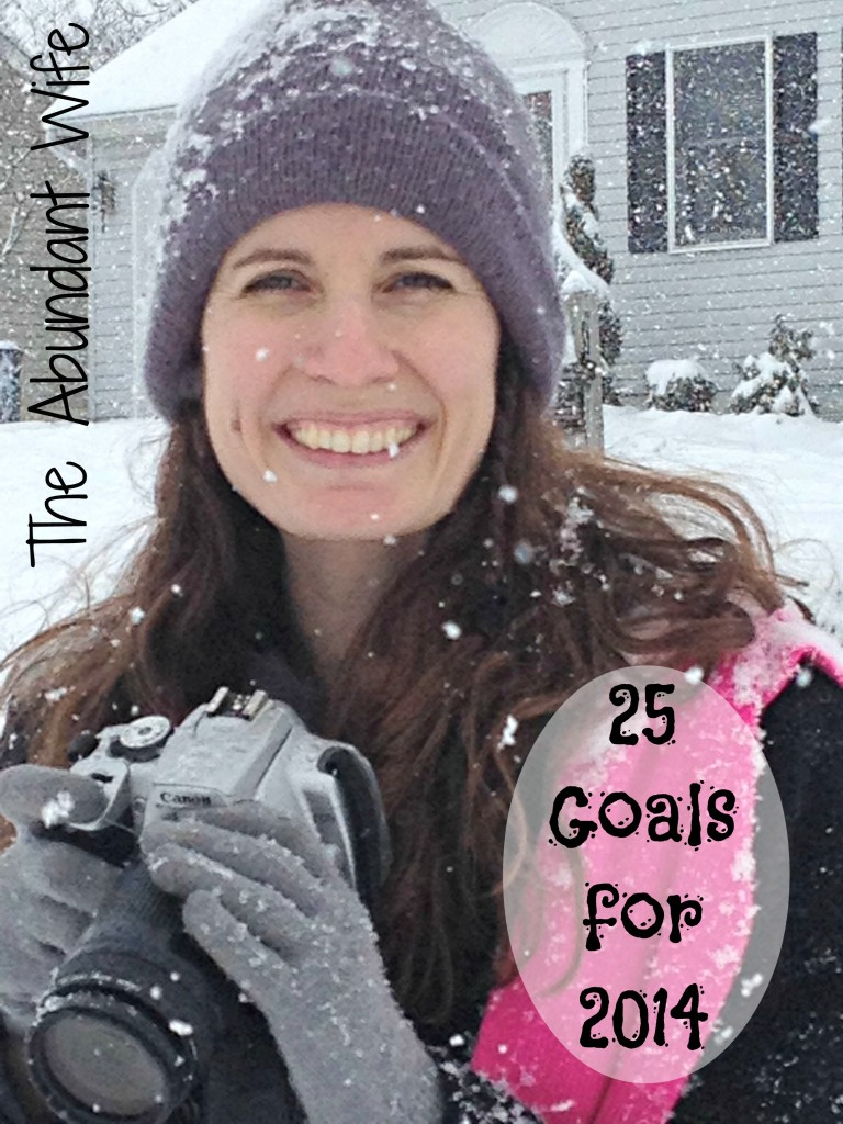 25 Goals for 2014