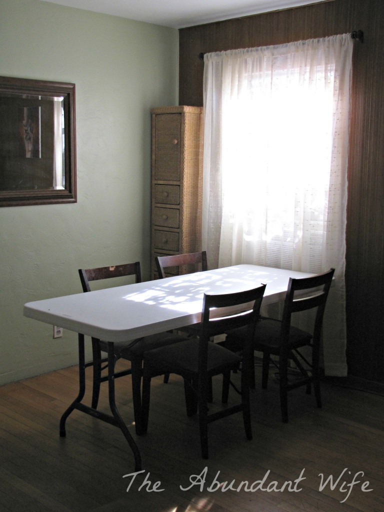 Dining Room Sheers
