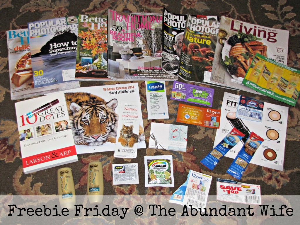 Freebie Friday @ The Abundant Wife