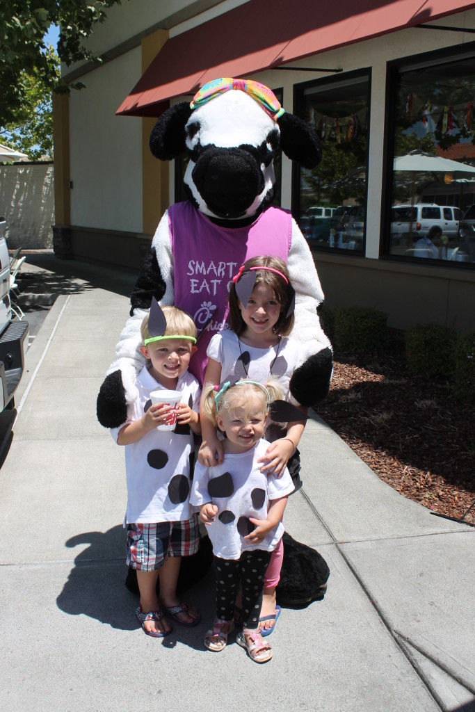"""Cow Appreciation Day"" at Chick-Fil-A"